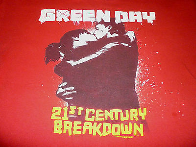 Green Day Tour Shirt ( Used Size2XL ) Good Condition!!!