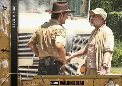 COME WHAT MAY COPPER WAVE 3 RICK & DALE Walking Dead Card Trader Digital
