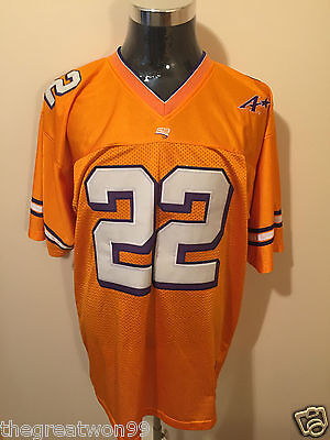 NCAA Evansville Purple Aces #22 XL College Football Jersey by Steve & Barry's