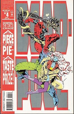 Deadpool:circle Chase  #4 1993 Marvel P4/4 Limited Series Nicieza/madlireira....