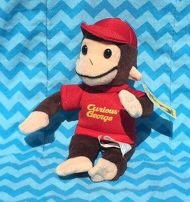 "Curious George 9"" Plush New With Tags"