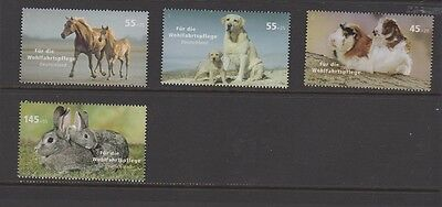 'Animal Welfare' - Germany 2007 (Set of 4 stamps)