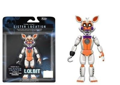 Funko Five nights at Freddy's Sister Location Lolbit Collectable Articulated Fig