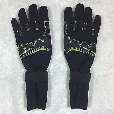 Henry Lloyd Neoprene Winter Weather Sailing Gloves Double Cuff Men Size Small