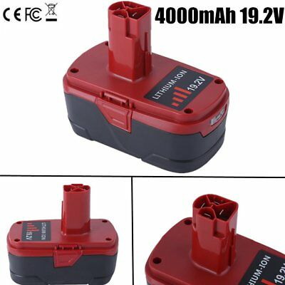 NEW CRAFTSMAN C3 19.2 VOLT LITHIUM-ION CORDLESS BATTERY CHARGER 19.2V 4000mAh VP