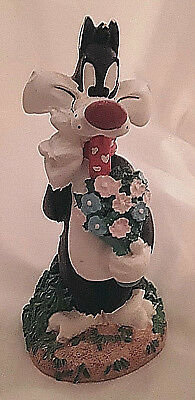 Sylvester The Cat Figurine-Warner Brothers Loony Tunes Cartoon Character-1997