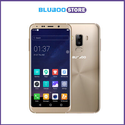 Bluboo S8 HD Affichage complet 4G Smartphone Octa Core 3 Go / 32 Go d'or