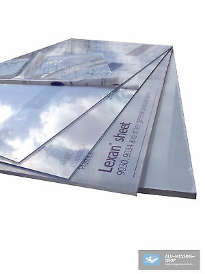 Polycarbonate (Pc) Board Colourless 1000 x 600 x 4 mm Breakage
