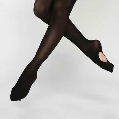Convertible Tights Dance Stocking Socks Ballet Pantyhose for Kids&Adults 4 Color