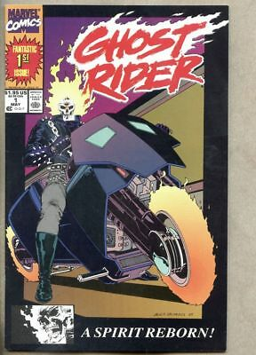 Ghost Rider #1-1990 nm- 9.2 Marvel Comics 1st new Ghost Rider Danny Ketch