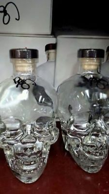 Crystal Head Skull Vodka Autograph Signed By Dan Akroyd 700Ml Collectors Bottle