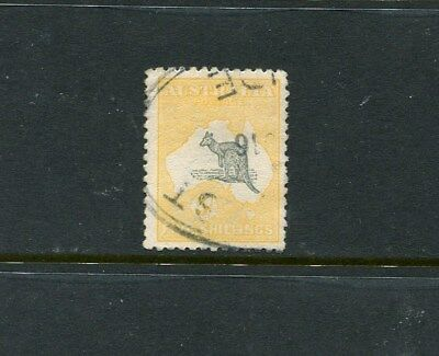 5/- Second wm roo superb used with inverted watermark