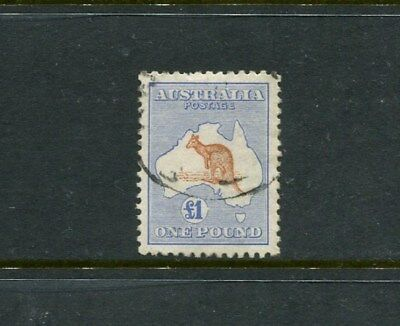 L1 Bicolour third wm with inverted watermark superb used