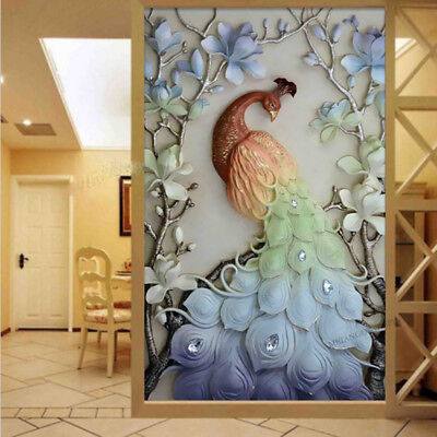 5D Embroidery Painting DIY Beauty Peacock Diamond Cross Stitch Craft Home Decor