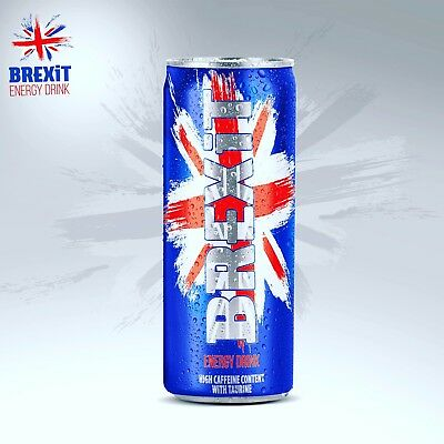 Brexit Energy Drink Case Of 24