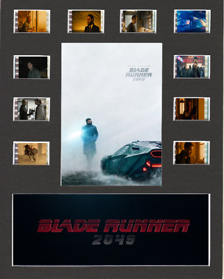 Blade Runner 2049 replica Film Cell Presentation 10 x 8 Mounted 10 cells