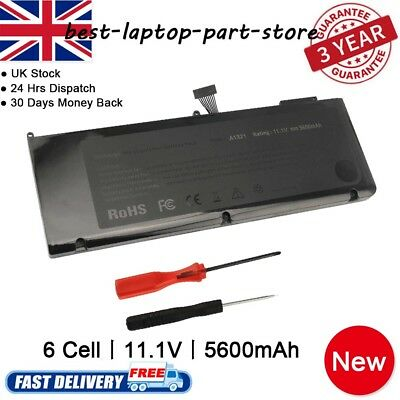 """For Apple MacBook Pro Unibody 15"""" A1286 Mid-2009 2010 A1321 Replacement Battery"""