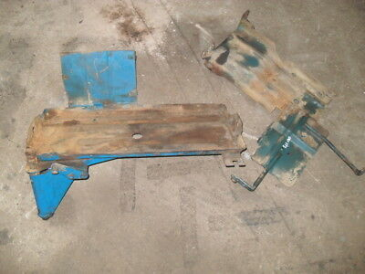 Ford 4100/4000 Battery Tray & Bracket in Good condition