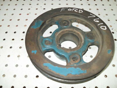 Ford 7610 Engine Crankshaft Pulley in Good condition