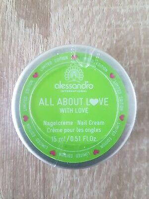 alessandro Striplac Nagelcreme All about love 15 ml OVP