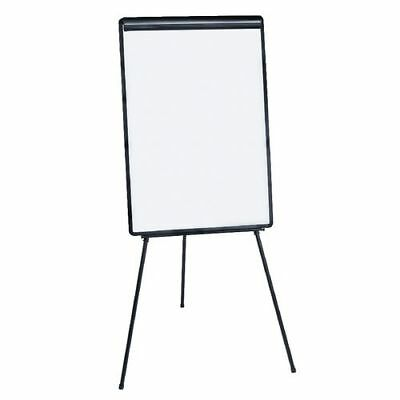 Tripod Whiteboard Flipchart Double Sided Non Magnetic Height Adjustable Free Del