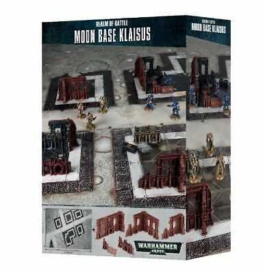 Realm of Battle Moon Base Klaisus Games Workshop Warhammer 40.000 Gelände Matte