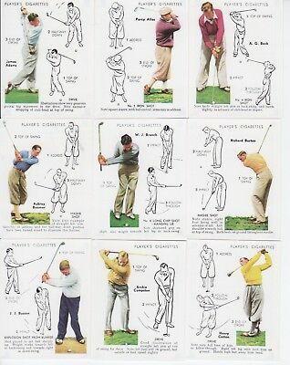 Golf Cards - Victoria Gallery reproduction of Golf 1939