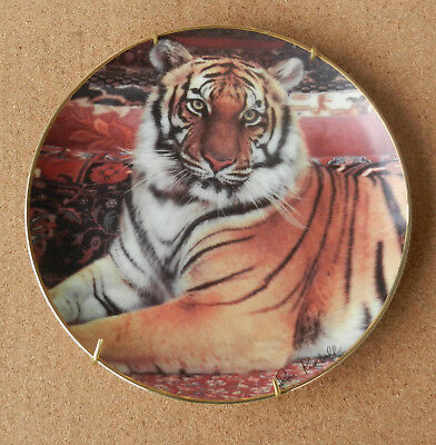 Franklin Mint The Imperial Tiger Plate By Ron Kimball
