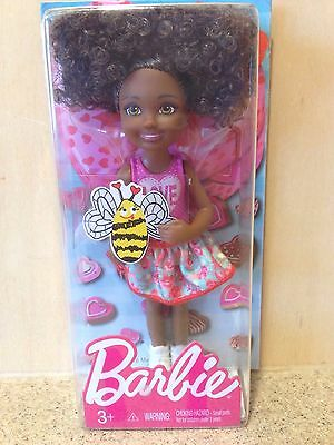 Barbie Valentines Collection 2016 Ethnic Kelly Chelsea African Hispanic Doll NIP