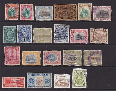 Guatemala. Small collection of stamps