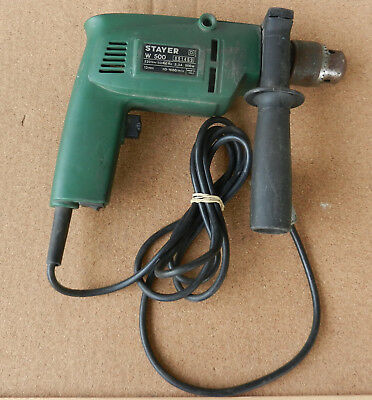 Stayer Electric Hammer / Drill Reversible Variable Speed Driver Italy 13mm chuck