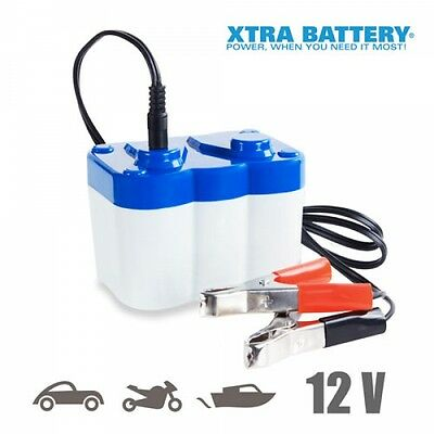 Xtra Battery Car, Motorcycle Jump Starter, Emergency Portable Auxiliary Booster