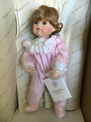 Porcelain Doll. Nite, Nite Pony By The Hamilton Collection. New In Box