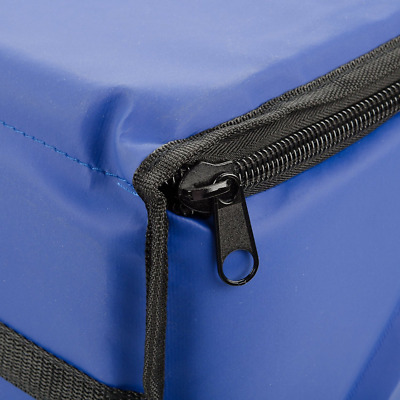 Insulated Food Delivery Bag Pan Carrier 23 x 13 x 15 Food Warm Carry Case Blue