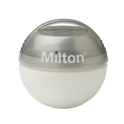 Milton Mini Baby Soother Steriliser Silver Plus 10 Free Sterilising Tablets