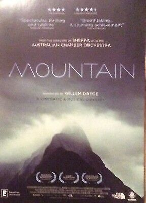 Promotional Movie Flyer For The Mountain