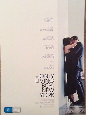 Promotional Movie Flyer For The Only Living Boy In New York