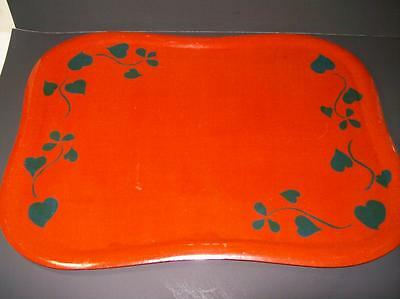 Danish Modern Fincraft Wood Serving Tray Soinne & Knioy Made in Finland c1955