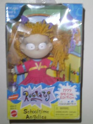 "1999 Rugrats School time Angelica Special Edition 5"" tiny doll"