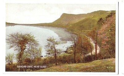 Sligo GLENCAR LAKE IRELAND EIRE OLD POSTCARD