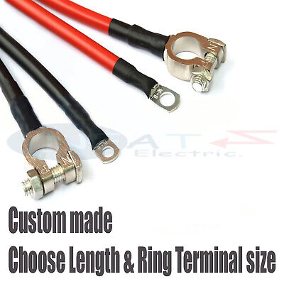 EARTH BATTERY TERMINAL LEAD LINK CABLE 170 AMP 170A CAR MOTOR BOAT MARINE LIVE