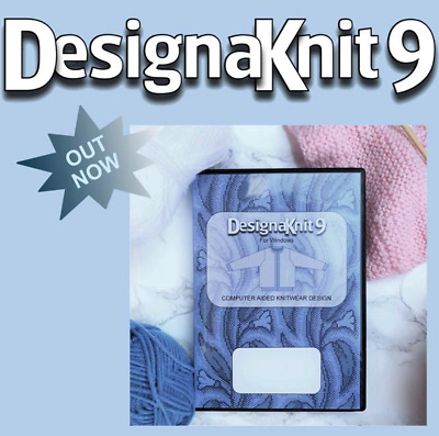 Designaknit 8 full software for Brother Silver Reed knitting machine New Sealed