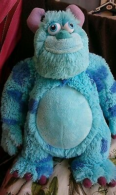 """DISNEY, MONSTERS INC. Sully, Soft Toy, Plush  11"""" Tall"""