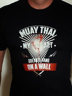 Black or white Muay Thai T-Shirt