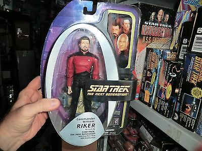 STAR TREK  TNG William Riker Figur Art Asylum Diamond NEU und OVP