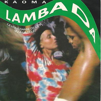 "Kaoma "" Lambada"" 7""   Holland Press"