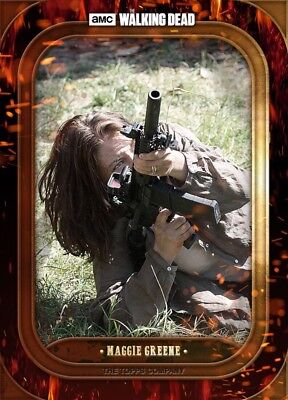 BADASS MARATHON WAVE 3 MAGGIE GREENE The Walking Dead Card Trader Digital