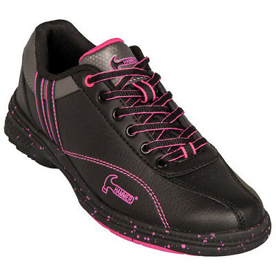 Hammer Vixen Black/Magenta Womens High Performance Bowling Shoes Right handed