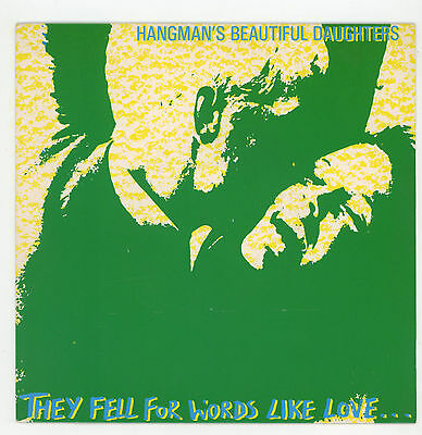"""indie /psych UK: HANGMAN'S BEAUTIFUL DAUGHTERS :They Fell For Word  - 7"""" UK 1987"""
