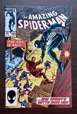 Amazing Spider-Man #265 MARVEL 1985 - - 1st app Silver Sable!